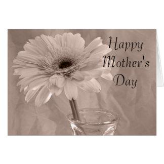 Palidezca - la tarjeta feliz del día de madres de