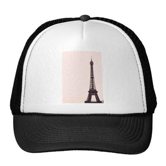 palidezca - la torre Eiffel rosada Gorras De Camionero