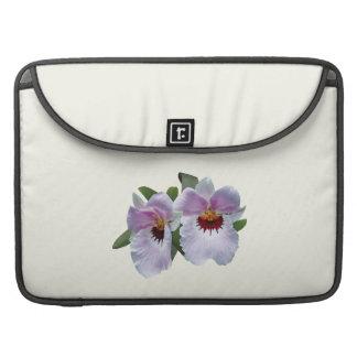Palidezca - las orquídeas rosadas fundas para macbook pro