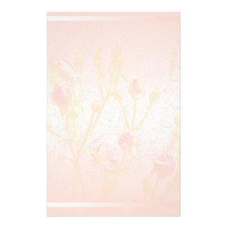 Palidezca - los efectos de escritorio rosados de l  papeleria