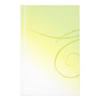 Palidezca - los efectos de escritorio verdes papeleria