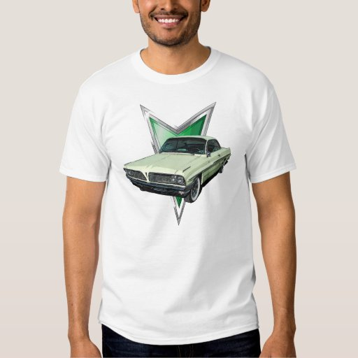 Palidezca - ponga verde Pontiac 1961 Ventura en la Camisas