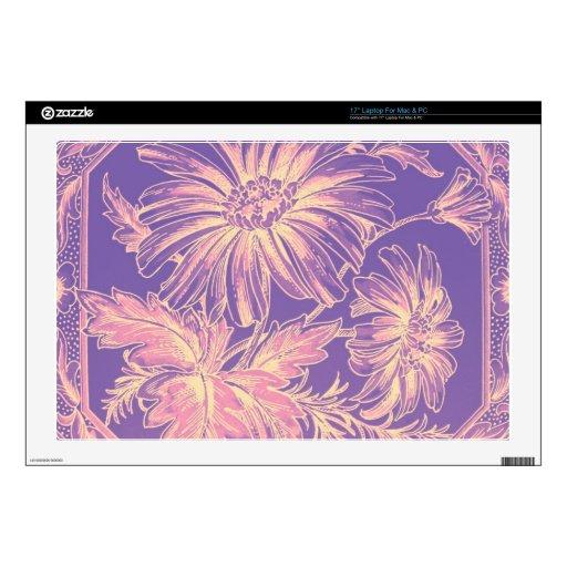 Palidezca - rosado, púrpura, lila, arte gráfico de skins para portátil