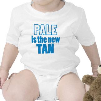 Pálido es el nuevo moreno trajes de bebé