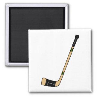 Palillo de hockey imán cuadrado