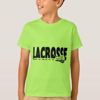 Palillo de LaCrosse blanco y negro Camisas