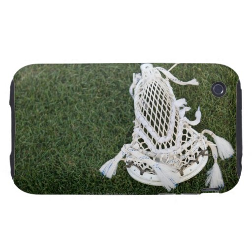 Palillo de LaCrosse en hierba Tough iPhone 3 Cárcasa