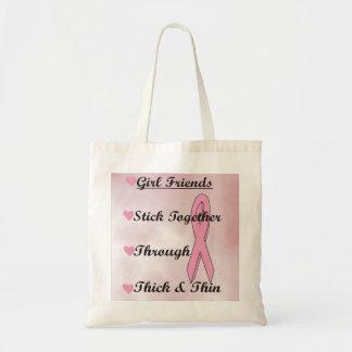 Palillo de los chicas junto bolsas