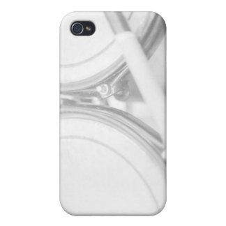 Palillo Toms de la nuez del estirón de los bordes iPhone 4 Cárcasa