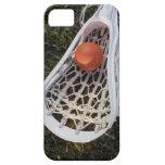 Palillo y bola de LaCrosse iPhone 5 Fundas