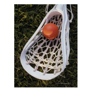 Palillo y bola de LaCrosse Postal