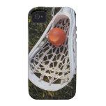 Palillo y bola de LaCrosse Vibe iPhone 4 Fundas