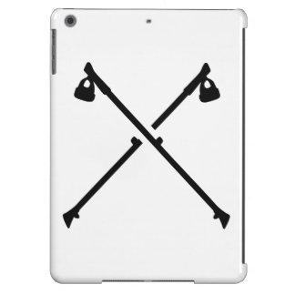 Palillos cruzados que caminan del Nordic Funda Para iPad Air