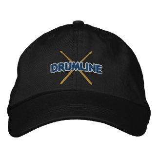 Palillos de Drumline cruzados Gorra De Béisbol