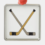 Palillos de hockey adorno para reyes