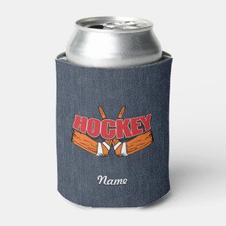 Palillos de hockey enfriador de latas