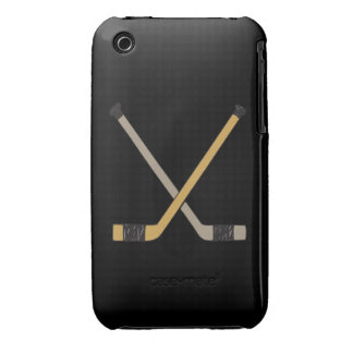 Palillos de hockey iPhone 3 protectores