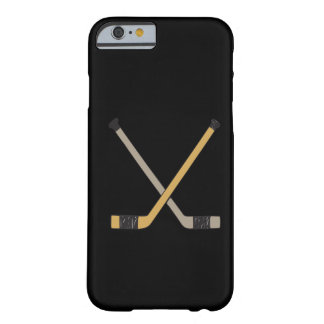 Palillos de hockey funda de iPhone 6 barely there