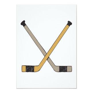 Palillos de hockey comunicado personalizado