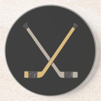 Palillos de hockey posavasos manualidades