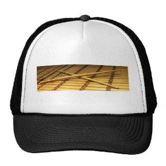 Palillos de la tajada gorras