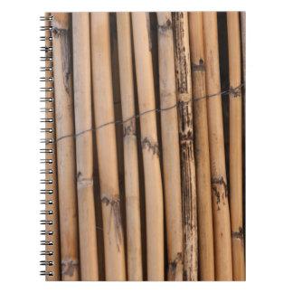 Palillos de madera libreta