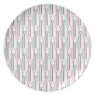 Palillos de Swizzle en colores pastel retros del Platos Para Fiestas