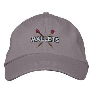 Palillos del mazo cruzados gorra de béisbol bordada