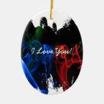 Palillos del resplandor en la oscuridad; Dulce nad Ornamente De Reyes