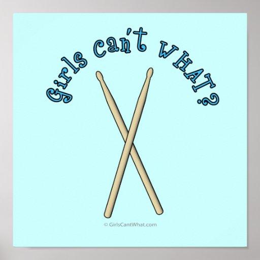 Palillos del tambor posters