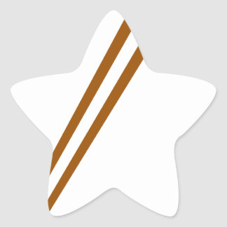 Palillos G00004 Pegatina En Forma De Estrella
