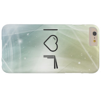 Palillos japoneses frescos funda para iPhone 6 plus barely there
