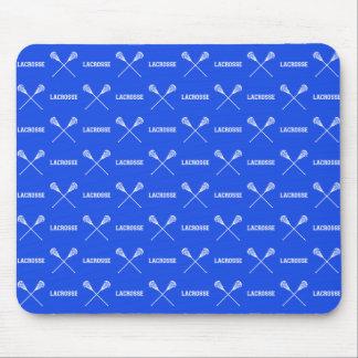 Palillos Mousepad de LaCrosse del azul real