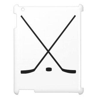 Palillos y duende malicioso de hockey