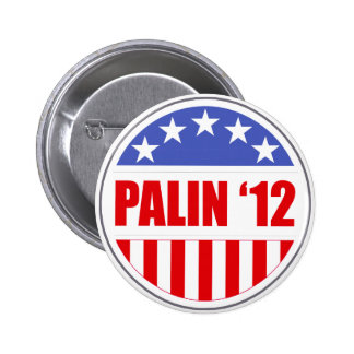 Palin '12 button