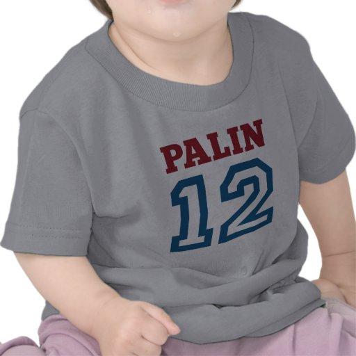 Palin 12 camisetas