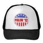 Palin '12 mesh hat
