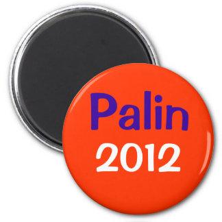 Palin 2012 2 inch round magnet