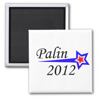 Palin - 2012 2 inch square magnet