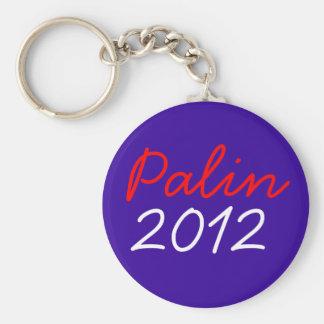 Palin 2012 basic round button keychain