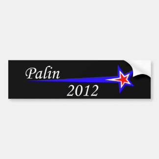 Palin -2012 bumper sticker