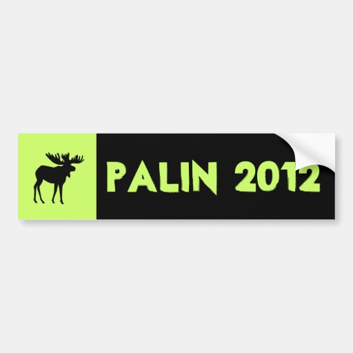 Palin 2012 Bumper sticker