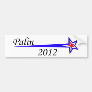 Palin-2012-bumper-sticker Bumper Sticker