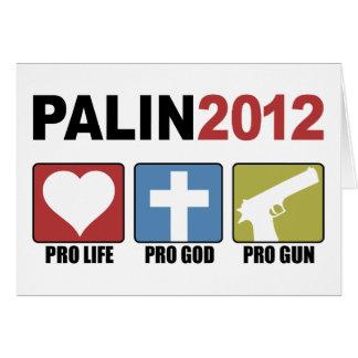 Palin 2012 card