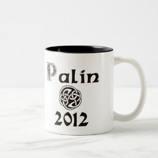 Palin 2012 Celtic Style Coffee Mug