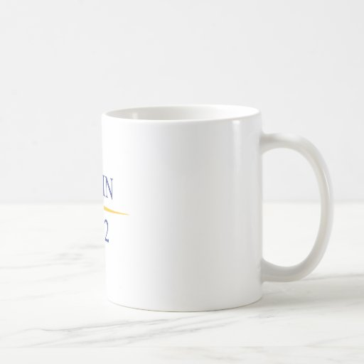 Palin 2012 classic white coffee mug
