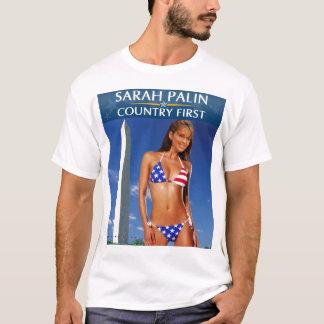 Palin 2012 - Country First T-Shirt