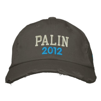 PALIN, 2012 EMBROIDERED HAT