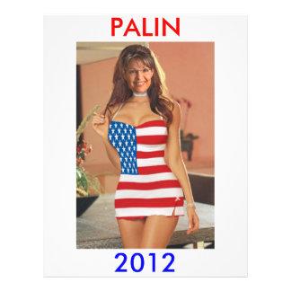 PALIN 2012 FLYER (Sarah Palin T-Shirts t shirts)