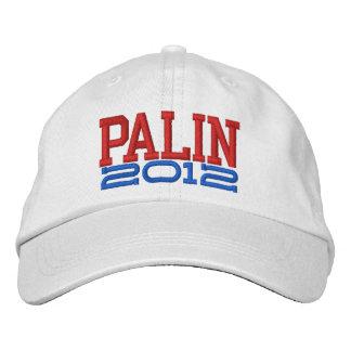 Palin 2012 gorra de beisbol bordada